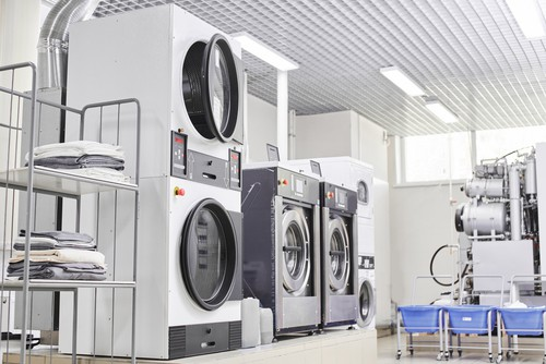 Laundry dry cleaning washer
